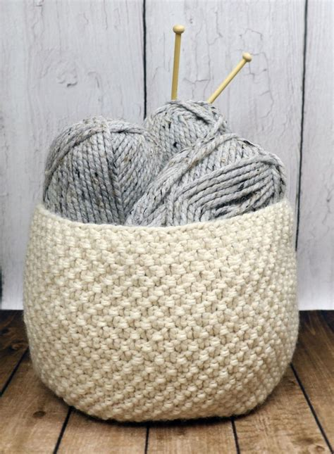 knitted yarn bowl pattern knitting pattern oodles basket knitting pattern