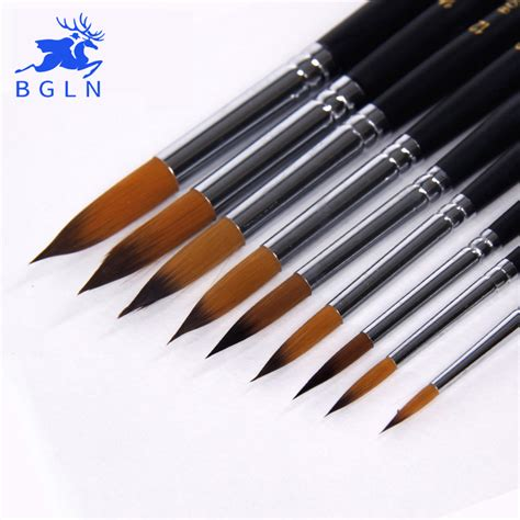 acrylic paint brush aliexpress buy bgln 9pcs handle