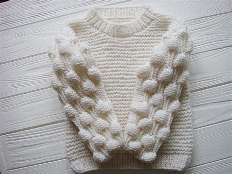 bobble stitch knit oversized bobble sweater allfreeknitting
