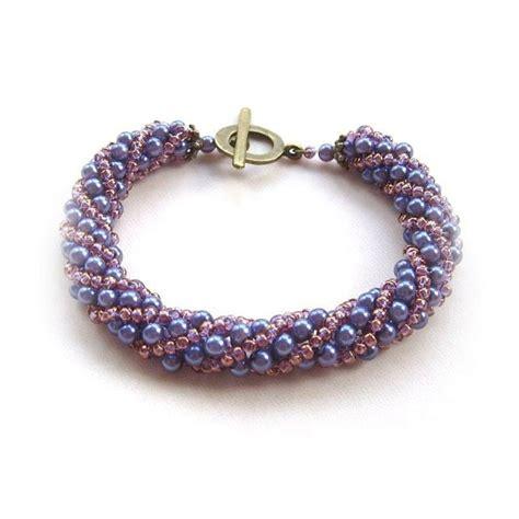 spiral beading russian spiral beaded bracelet