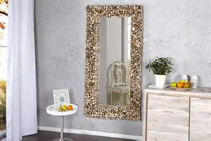 miroir mural design bois flott 233 pas cher comforium