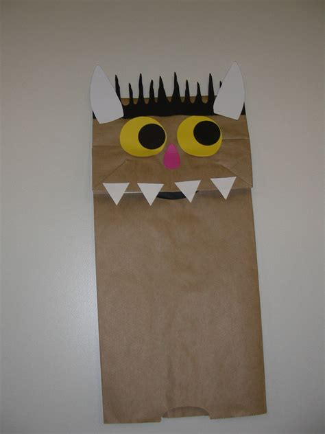 paper bag puppet craft eisenhowerstorytime licensed for non commercial use only