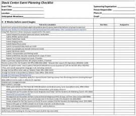 planning checklist event planning template excel mybissim