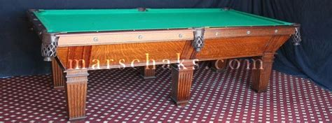 antique pool tables antique pool tables for sale