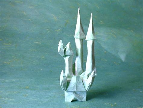 origami castle easy origami buildings page 1 of 2 gilad s origami page
