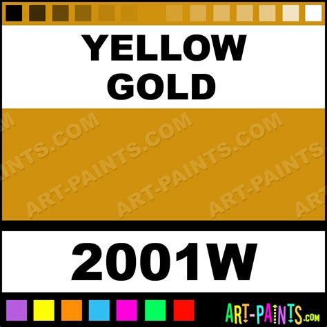 paint colors yellow gold yellow gold color wheels paints 2001w yellow
