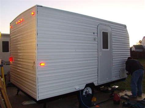 diy floor cer trailer plans built travel trailer plans cer trailer woodalls