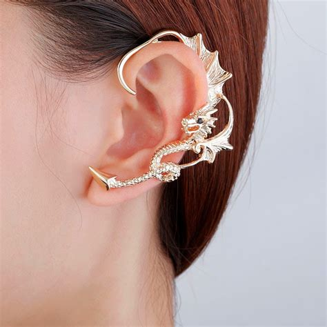 how to make ear wrap jewelry must these four trendy ear cuff wrap earrings