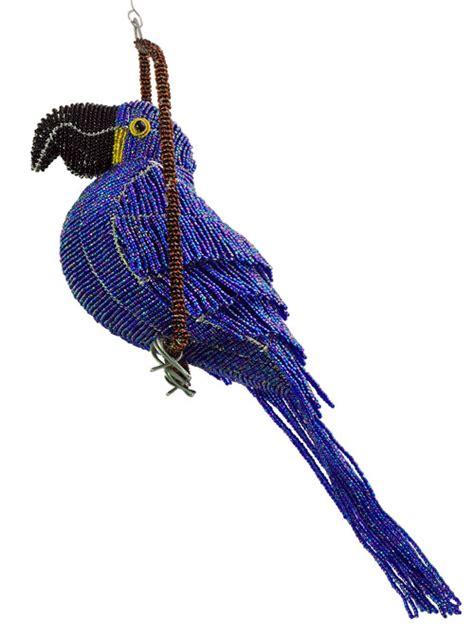 bead and wire animals beaded macaw wireworx beaded animal figurine