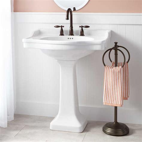 bathroom pedestal sink ideas cierra large porcelain pedestal sink pedestal sinks