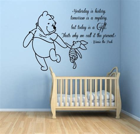 baby stickers for wall winnie the pooh wall decals piglet wall quotes words