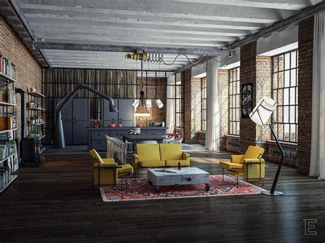 loft industrial industrial loft