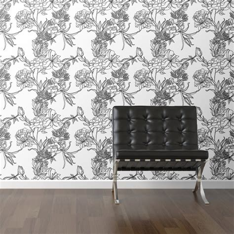 floral removable wallpaper walls need floral removable wallpaper fab