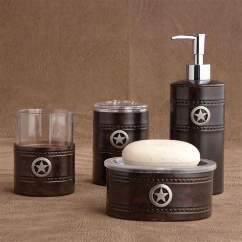 western themed bathroom accessories rustic bath set western bathrooms