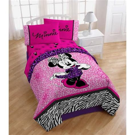 minnie mouse comforter set for toddler bed disney minnie mouse bedding comforter pink