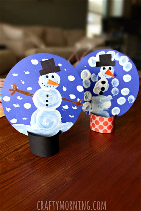 snow craft for 40 crafts ideas easy for to make