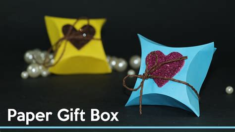 how to make a gift box out of card diy gift wrapping ideas how to make small gift box out