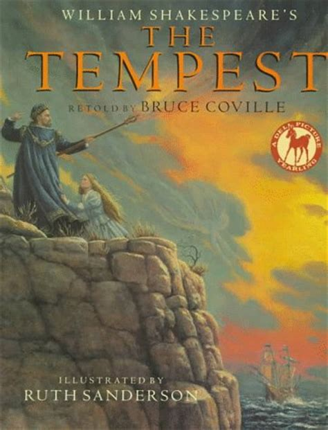 shakespeare picture books william shakespeare s the tempest by bruce coville