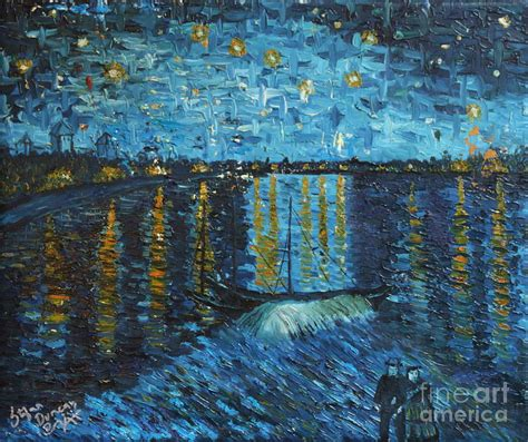 paint nite duncan starry the rhone painting by stefan duncan