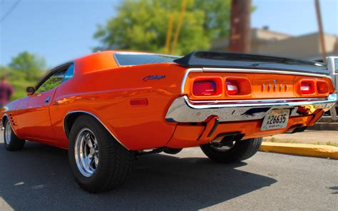 Classic Car Wallpaper 1600 X 900 Hd by Dodge Challenger Classic Car Wallpaper Best Hd Wallpapers