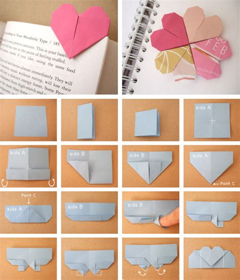 origami page marker page marker
