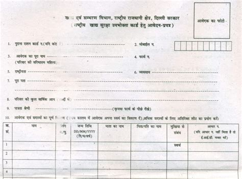 how to make ration card in delhi ration card delhi status search list apply