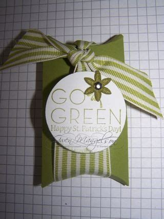 rubber st tutorial st patricks day hostess gift projects paper