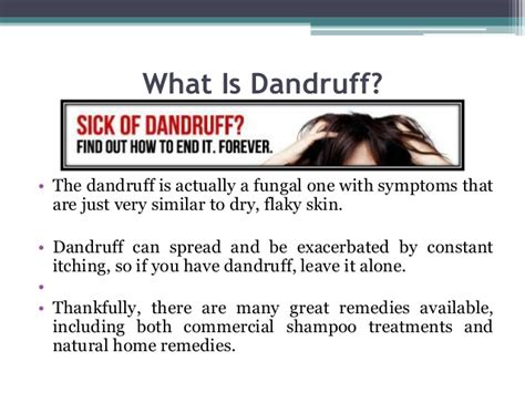 what does in what is dandruff