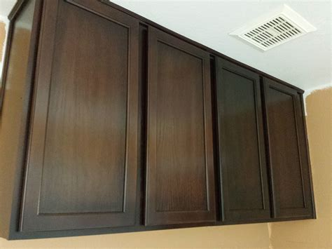 wall mounted kitchen cabinets painting wall mounted oak kitchen cabinet with brown color