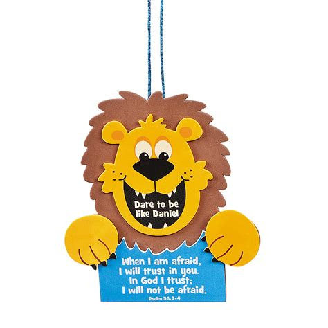 daniel and the lions den crafts for to be like daniel sign craft kit trading