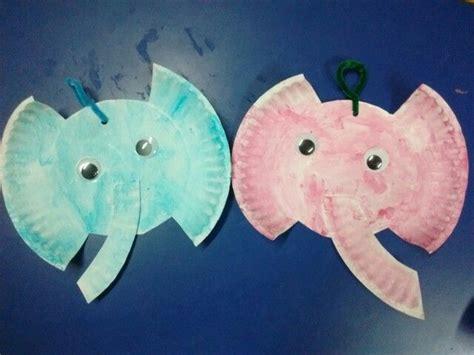 paper plate elephant craft 1000 ideas about preschool elephant crafts on