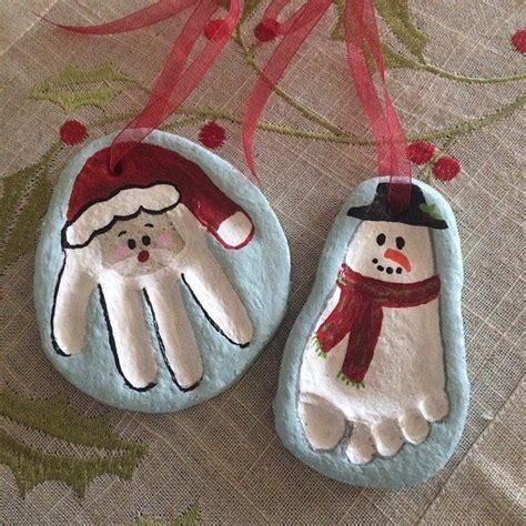 salt dough crafts for 25 unique print ornament ideas on