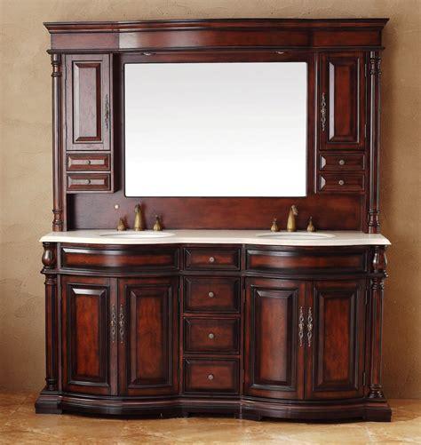 martin 72 quot marble top bathroom vanity w