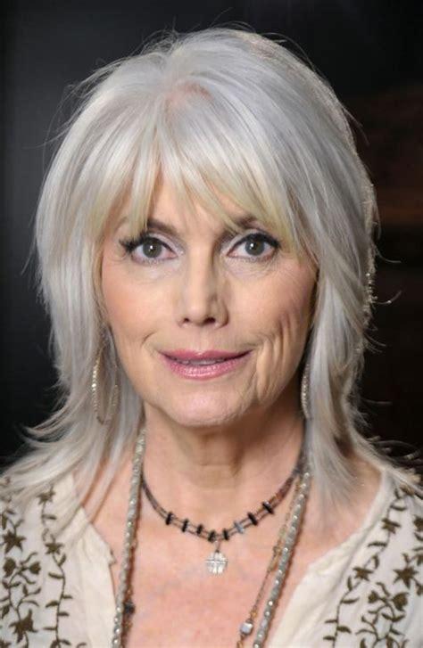 mid length grey hair grey medium layered hairstyles globezhair