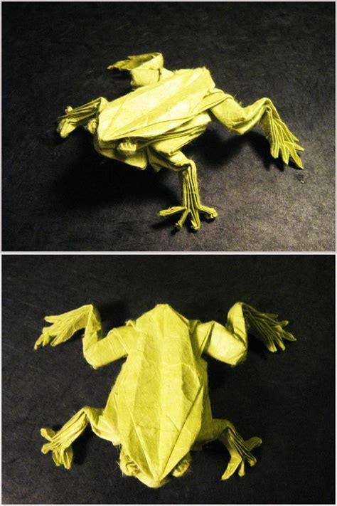 origami tree frog origami tree frog by lexar on deviantart