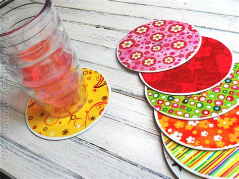 cd crafts for recycle craft cd coasters crafts by amanda