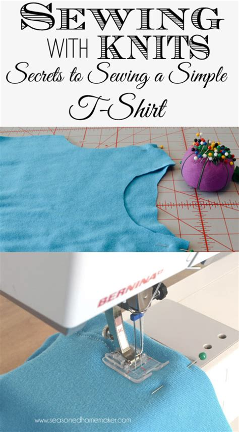 sewing knits sewing with knits a t shirt