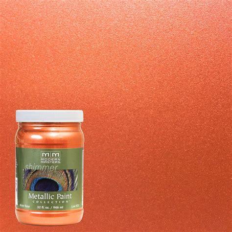 behr paint colors burnt orange modern masters 1 qt burnt orange metallic interior
