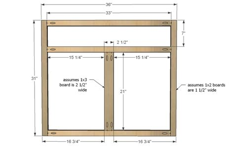 kitchen cabinet woodworking plans cabinet frame plans 187 woodworktips