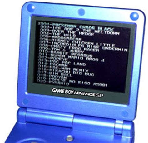 make your own r4 card gameboy advance multicarts compilation