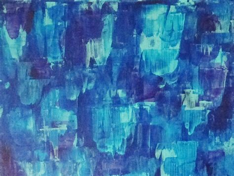 acrylic paint background techniques acrylic abstract background painting blue streaks