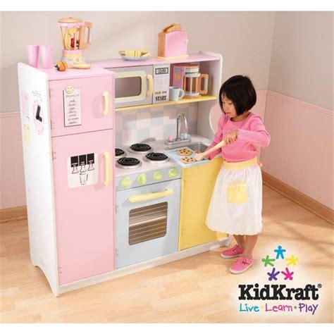 kid craft play kitchen kidkraft pastel play kitchen set 146111 toys at