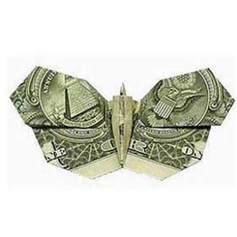 easy dollar bill origami for money origami butterfly paper origami guide