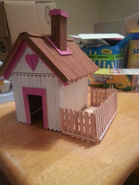 house craft ideas for 25 best ideas about popsicle stick houses on