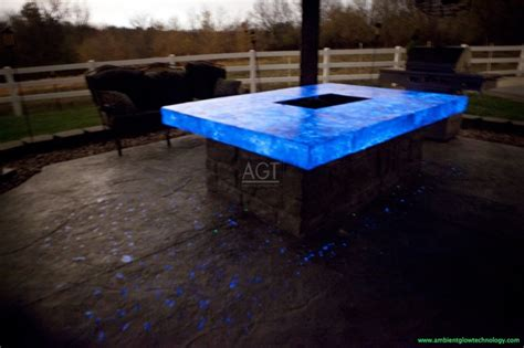 glow in the paint driveway glow in the pit energized with agt sky blue