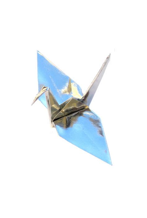 silver origami paper metallic silver origami cranes graceincrease custom