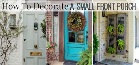 how to decorate how to decorate a small front porch worthing court