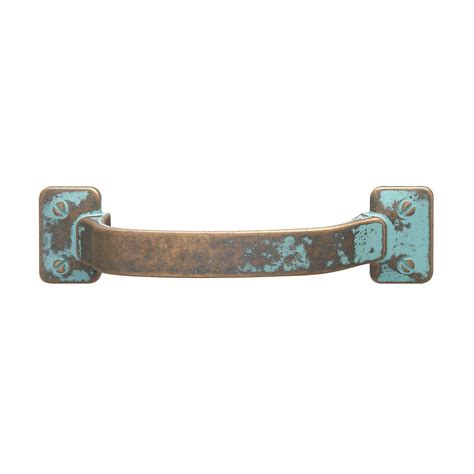 hafele 123 31 031 traditional zinc pull rustic copper