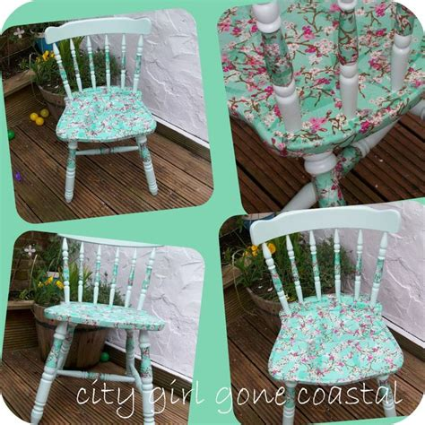 newspaper decoupage furniture how to decoupage a chair using paper napkins for the