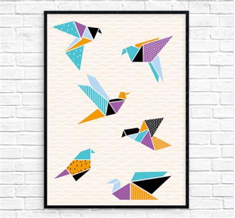 origami crane printable origami cranes printable wall allfreepapercrafts